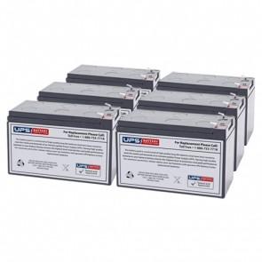 Liebert GXT-1000RTE-120 Compatible Replacement Battery Set