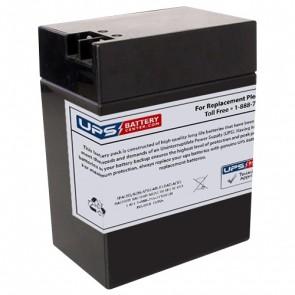 12E1 - Lightalarms 6V 13Ah Replacement Battery