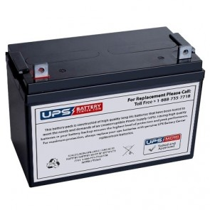 National Power 12V 100Ah AT500K3 Battery with NB Terminals