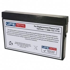 Nihon Kohden 7100A Cardio Life Tec 12V 2Ah Medical Battery