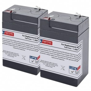 Orion Research Sodium Potassium Analyzer 1020 Medical Batteries - Set of 2