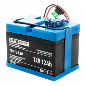 12V Blue Peg Perego compatible replacement battery