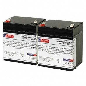 Potter Electric PFC-3002 (Set of 2) 12V 5Ah Batteries
