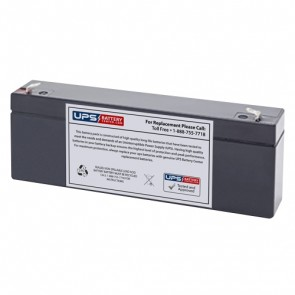 Power-Sonic 12V 2.5Ah PS-1220 Battery with F1 Terminals