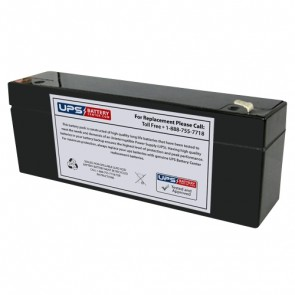 Power-Sonic 12V 2.9Ah PS-1229 Battery with F1 Terminals