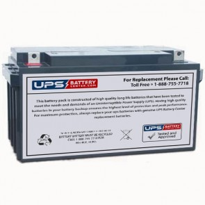Power Kingdom PK80-12 12V 80Ah Battery