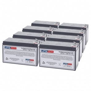 PowerVar Security II Medical UPM 2704VA 2434W ABCE3002-22MED Compatible Replacement Battery Set
