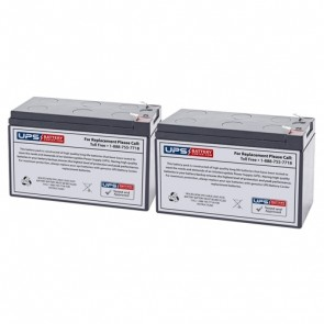 PowerVar Security II Medical UPM 800VA 720W ABCE802-11MED Compatible Replacement Battery Set