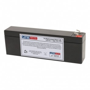 RIMA 12V 2.6Ah UN2.6-12 Battery with F1 Terminals