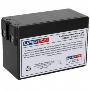 RIMA 12V 2.8Ah UN2.8-12 Battery with F1 Terminals