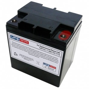 RIMA 12V 27Ah UNH12-120W Battery with M5 - Insert Terminals