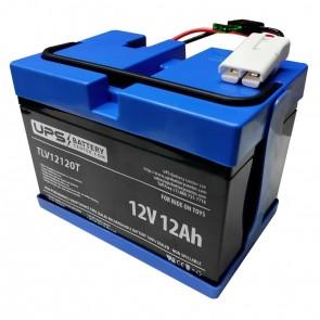 Battery for Rollplay 12V Chevy Silverado Black