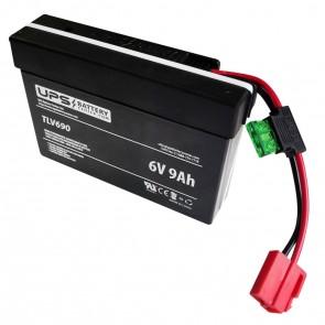 Battery for Rollplay 6V Audi R8 Spyder Black