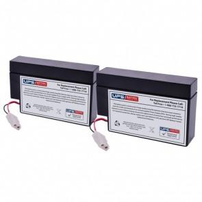 Schiller America AT-10 EKG Machine 12V 0.8Ah Medical Batteries with WL Terminals