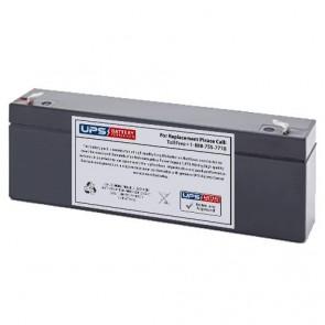 SigmasTek 12V 2.9Ah SP12-2.9 Battery with F1 Terminals