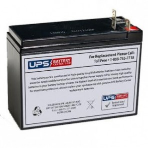 SigmasTek 12V 10Ah SP12-9HR Battery with NB Terminals