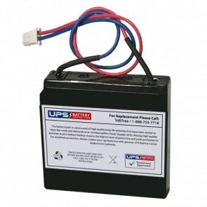 SigmasTek 6V 0.5Ah SP6-0.5 Battery with F1 Terminals