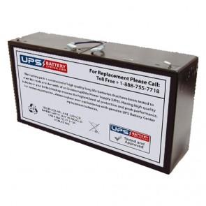 Simplex 2081 12V 33.0Ah Battery