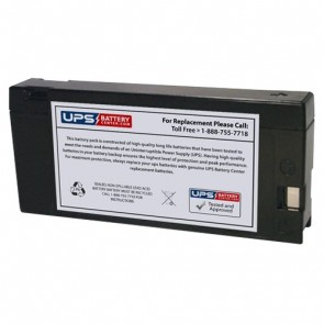 Sunnyway 12V 2Ah SW1220 Battery with PC Terminals