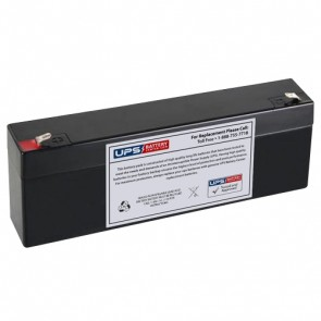 Taico 12V 2.2Ah TP12-2.2 Battery with F1 Terminals