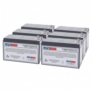 Toshiba 1000 Series 1.5KVA Compatible Replacement Battery Set