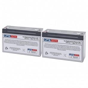 Tripp Lite BC Pro 600VA BCPRO600 Compatible Battery Set - Version 2
