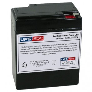 Union 6V 8.5Ah MX-06082 Battery with F1 Terminals