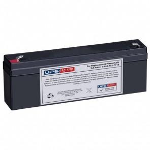 Yuasa 12V 2.3Ah NP2.1-12 Battery with F1 Terminals