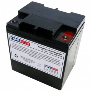 Zonne Energy 12V 28Ah FPG12280A Battery with M5 Terminals